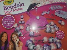 Crayola Beadola Bead Maker Girls Activity Bracelet Chain Designer Fun Craft Kit