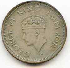 India 1/4 Rupee 1944-B  lotjun6473