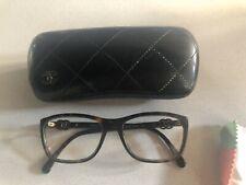 CHANEL Eyeglass Frames 3234 c. 714 Women's Tortoise