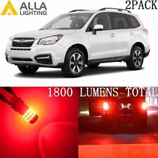Alla Lighting Brake Tail /Rear Turn Signal Blinker Light Red LED Bulb for Subaru