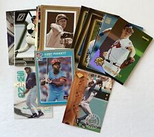 Lot of 18 rare star inserts & parallels Griffey, ARod, Clemens, Jackson, Yount