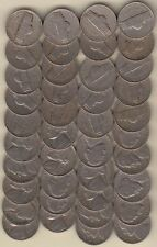 ROLL 1942-D JEFFERSON NICKELS, BETTER DATE, NICE CIRCULATED FAST SHIPPING!