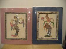 Balinese dancer batuan Bali signed watercolor/OIL?  PAINTING ?+ 1 UNSIGNED