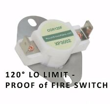 WINRICH PELLET STOVE CERAMIC LO LIMIT SWITCH   [XP3002]  PERFECTA  &  DYNASTY