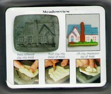 Amaco PUSH MOLD Mould House Series 1 Country #4 MEADOWVIEW HOUSE Sheri Frey 1999