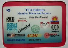 1995 TTA Salutes Member Telcos and Issuers, $2 Phone Card, limited edition