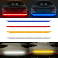 Car Auto Reflective Warn Strip Tape Bumper Truck Safety Stickers Decals Paster