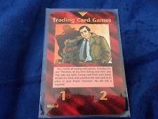 "INWO Illuminati New World Order ""Trading Card Games"" rare special promo card"