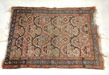 Tapis ancien laine nouée Anatolie Perse antique carpet XIXè siècle