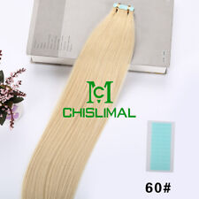 16-26inch 8A Seamless Tape In Skin Weft 100% Remy Human Hair Extensions 20pcs