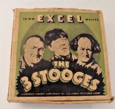 Vintage Excel Reel The 3 Stooges Film 16mm  4 inch