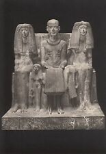 Ansichtskarte - Ägyptische Plastik / Der Priester Ptahmai mit Familie