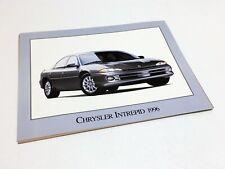 1996 Chrysler Intrepid Information Sheet Brochure
