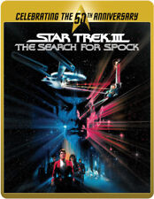 STAR TREK: THE SEARCH FOR SPOCK STEELBOOK****BLU-RAY****REGION B****NEW & SEALED