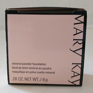 Mary Kay Mineral Powder Foundation Makeup Beige New In Box Buildable Coverage