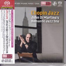 """""""John Di Martino's Romantic Jazz Trio Chopin Jazz"""" Japan Venus Records SACD New"""