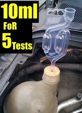 CAR COMBUSTION LEAK TESTER KIT HEAD GASKET BLOCK PETROL DIESEL 10ml Test FLUID