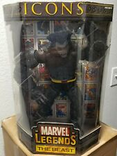 "ToyBiz Marvel Legends Icons Dark Beast 12"" Action Figure X-Men Rare"