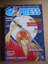 EXPRESS - Rivista Manga n°16 Ryusei il Temerario Ed. Star Comics   [G371A]