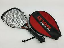 D P Leach Racquet Ball Racquet Fit For Life Graphite 250 With Case