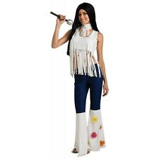 Rockstar Girl Hippie Cher Costume Halloween Fancy Dress