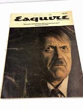 Vintage Esquire Magazine May 1965 Adolf Hitler Nazi Criminals by Gideon Hausner