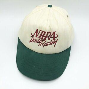 Vintage NHRA Drag Racing Snapback Hat American Needle Cap USA Made Hotrod