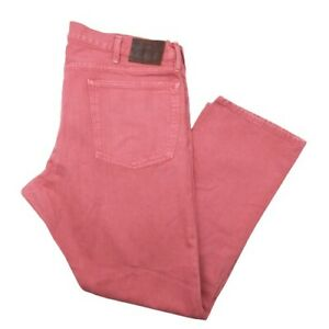 Polo Ralph Lauren Mens 40 x 30 Varick Slim Straight Leg Button Fly Stretch Jeans