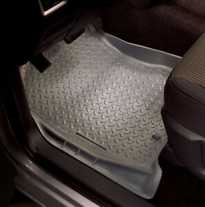 Husky Liners Front Car Floor Mat Rubber Carpet For Hummer 2003-2005 H2