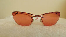 CHRISTIAN DIOR CD SUNGLASSES FLASH/STR col. 912 62-18-115 RED WITH RED STONES