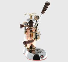 La Pavoni Esperto Edotto Chrome / Brass Espresso Machine   ESPED 16