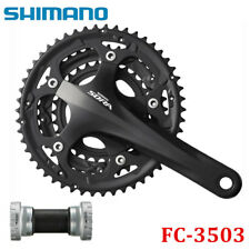 Shimano Sora FC-3503 9 Speed Triple Chainset Road Bike Crankset 30-39-50T w/ BB