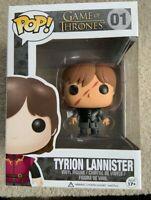 RARE Scarred Tyrion Lannister Funko Pop Vinyl New in Mint Box + Hard Protector