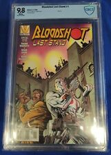 Bloodshot Last Stand nn 1 CBCS 9.8  One Shot Valiant Movie white pages not cgc