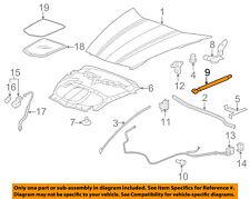 Chevrolet GM OEM 05-13 Corvette Hood-Lift Support Strut Shock Prop Arm 10399704