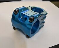 Azonic Riot Stem - Blue - 40mm x 0 degrees x 31.8mm Clamp