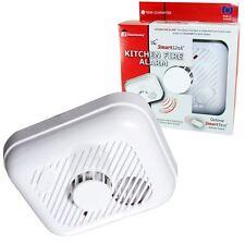 Ei Smartlink KiteMarked Wireless RF Interlinked Linked Kitchen Heat Fire Alarm