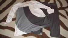 BOUTIQUE ELLA MOSS 6-12 GRAY SUPER SOFT TOP PANT SET LUV IT
