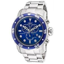 INVICTA 15082 MEN'S PRO DIVER STAINLESS STEEL CHRONOGRAPH WATCH WITH BLUE DIAL