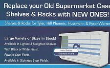 Hussmann D5 Case Shelves, Shelf. Also available Kysor, Hill, Tyler etc Models