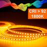 Bande LED 2835 Ambre (1800K) Cri 92 36W 5 Mètre 24V IP20