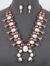 *NWT* Full Squash Blossom Necklace