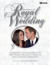 Invitation to the Royal Wedding Prince William and Kate Middleton ITV News Book