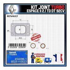 Joints Turbo 2.1 TD dT 92 Cv Renault Espace 6025110523 Garrett TD2503 454096-1