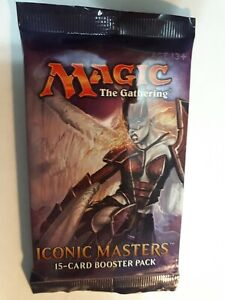 Iconic Masters Booster Pack *Unopened* MTG