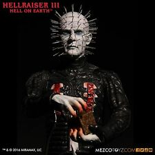 "HELLRAISER III PINHEAD 12"" figure-Clive Barker-Horror-Doug Bradley-action-MEZCO"