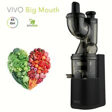 Estrattore di succo Classe Big Mouth Slow Juicer smart colore nero