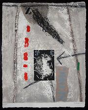 James COIGNARD - Gravure originale PROFIL 3 ET ROUGE (1980)