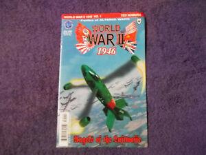 World War II 1946 #1,JULY 1999,ANGELS OF THE LUFTWAFFE, Print Run 15,000 Copies