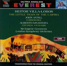 Villa Lobos: The Little Train of the Caipira / Antill: Corroboree / Ginastera: E